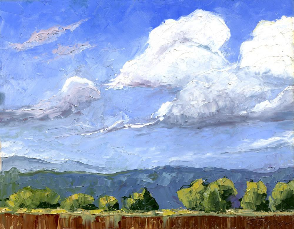 """""""Sunny Day,"""" by Jeanette Stutzman, oil, 11 x 14 in."""